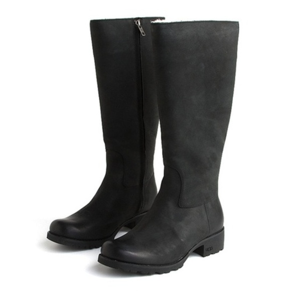 5e6c3ff3dd0 •Ugg• Broome II Tall Leather Shearling Boots
